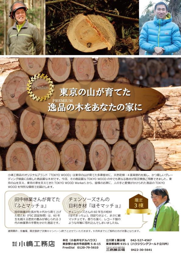 秋キャンペーン表